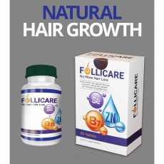 Follicare Tablets Hair Vitamin for hair growth best use along Minoxidil 5% Spray