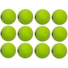 Pack of 12 - Cricket Tennis Balls