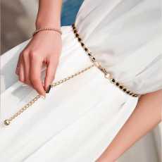 Waist Chain for Women, Ladies Metal Adjustable Thin Waist Chain for girls...