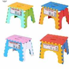 Small Chair Folding Step Stool Folding Child Chair Portable Home Outdoor...