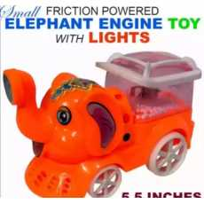 Small Elephent Engine Toy with Light for kids