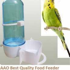 Food Feeder / 500 GRAMS 300 ML Water Drinker for All Birds Parrots
