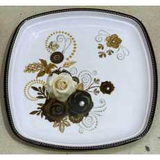 Melamine plates pack of 6 rice plate