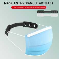 Pack of 5 - Ear Saver for Mask - Adjustable Strap Hook Extender - Mask Holder...