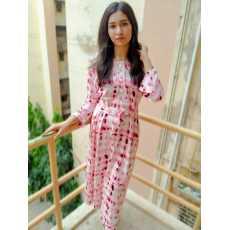 Tie & Dye Maxi-Brand Bubblegum  By A&H Apparels