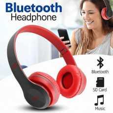 Bluetooth headset Orignal P47 Foldable Over the Ear headphones full bass sound