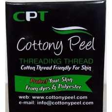 Eyebrows Threading Thread Organic Cotton & Polyester  Antiseptic Facial Hair...