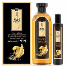 Wellice Ginseng & Collagen Anti-Hair Loss Set Consists Of Shampoo 420 Ml And...
