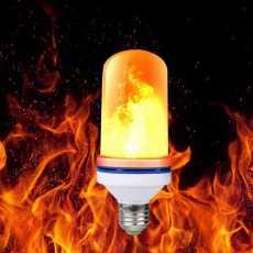 flame led best effect light bulb