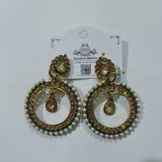 Trend Earring For Girls bali Imported Bali Earrings Fancy Golden Women Earrings