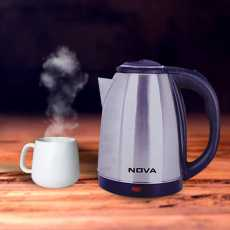 Electric kettle highly efficient heat retention steel body 2.0 litres 1500...