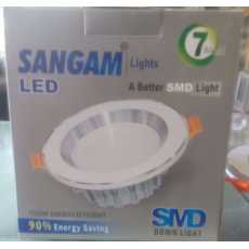 Sangam Solar 7w dc down light