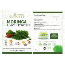 Moringa Powder Organic (Moringa Oleifera Leaf Powder), 500 Grams (18 Ounce),...