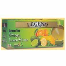 Legend Green Tea Orange, Lemon And Lime 25 Tea Bags