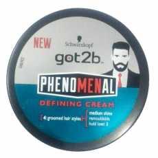 New Imported Got2B Phenomenal Defining Cream Styling Cream For Hair & Beard...