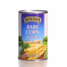Green Farm High Quality Super Tasty Baby Corn 400 GM