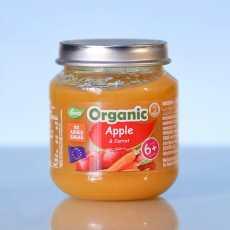 Deva Organic Baby Food Apple And Carrot 120 GM (Pack Of 2)