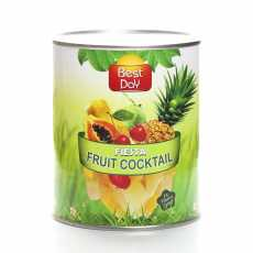 Best Day Fiesta Fruit High Quality Fresh Cocktail In Heavy Syrup 3 KG
