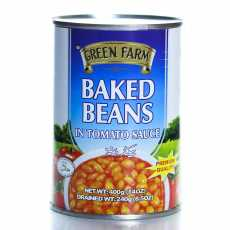 Green Farm Baked Beans High Quality And Tasty 400 GM