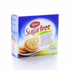 Tiffany Sugar Free Lemon Cream Biscuits 162 GM