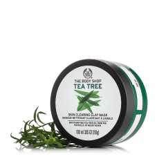 Imported The Body Shop Tea Tree Skin Clearing Clay Mask 100 ML