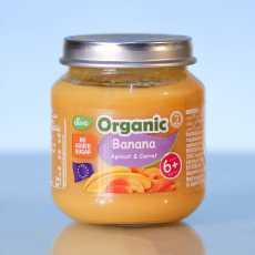 Deva Organic Baby Food Banana, Apricot And Carrot 120 GM (Pack Of 2)