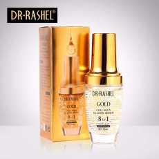 DR.RASHEL Gold Collagen Ampoule Elastin Moisturizing Anti Aging Make Up...