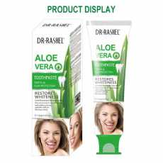 DR.RASHEL ALOE VERA TEETH AND GUM PROTECTION TOOTHPASTE 120G - DRL-1477