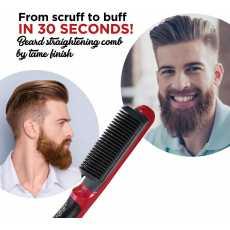 Quick Hair Straightener Heat Brush Hair Comb For Men & Women