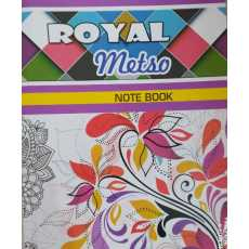 3 In 1 Note Book with Fine Pages (Single Line, Four Line & Math Box)