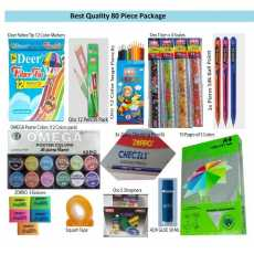 Stationary Package-01 of 80 Pieces of Quality Products