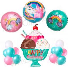 Unicorn Happy Birthday Beautiful & Unique Theme