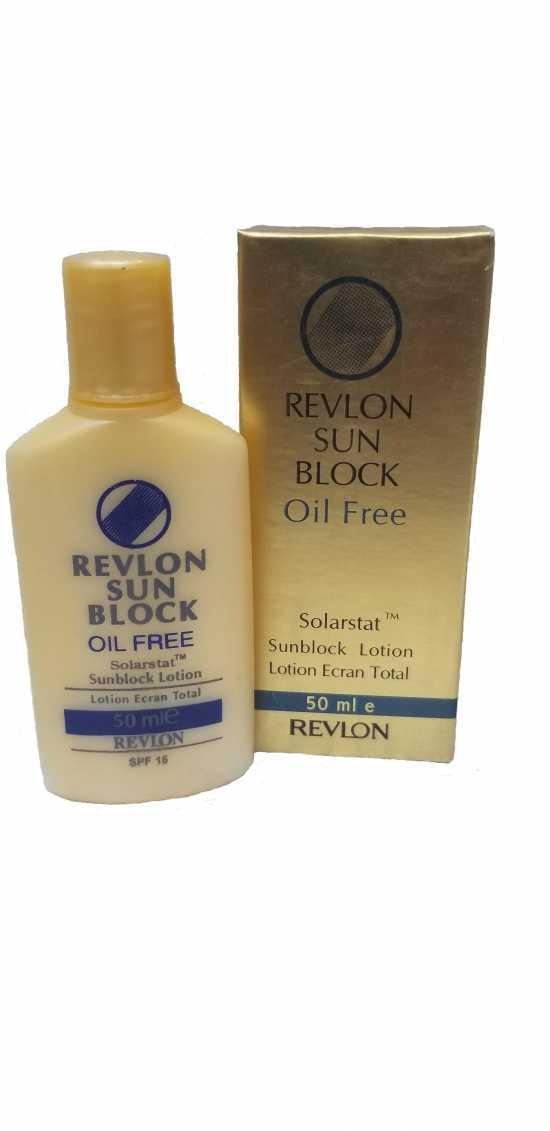 REVLON SUN BLOCK OIL FREE