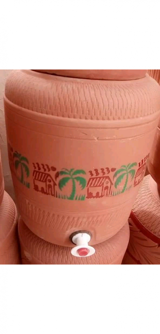 Mud Clay water Cooler