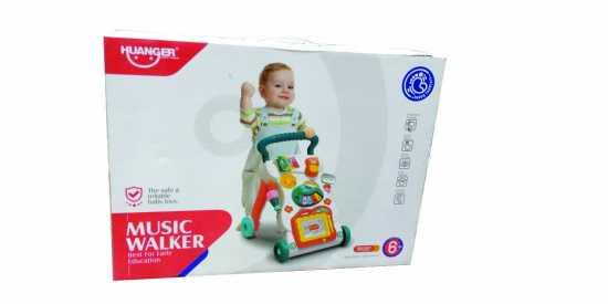 Huanger Music Walker Multifunctional Children Infant Baby Music Walker