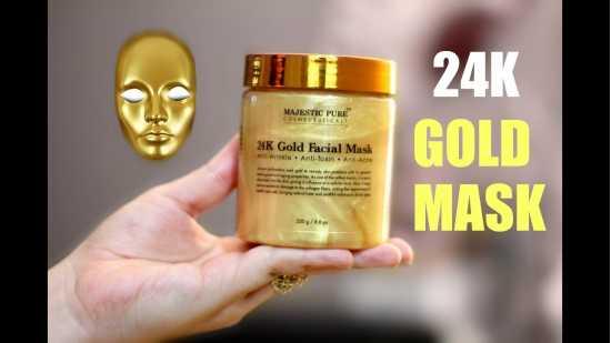 Golden Care 24k facial Gold