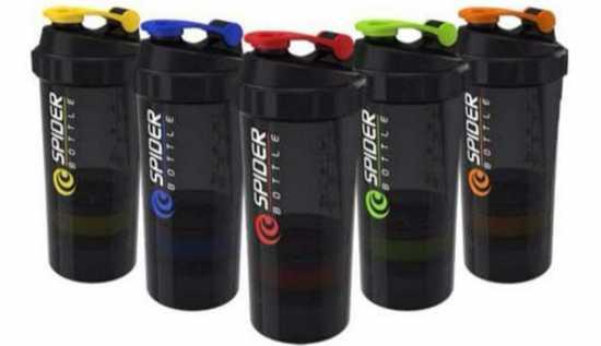Spider Smart Protein Shaker Bottle for gym