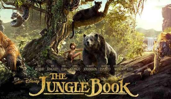 The Jungle Book (2016) Movie - Urdu + English 1080P HD in DVD