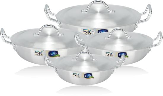 Sk Metal Karahi/ Wok 30 cm