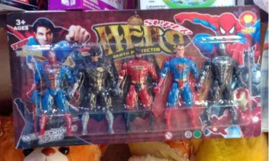 Super Hero Earth Protector Character