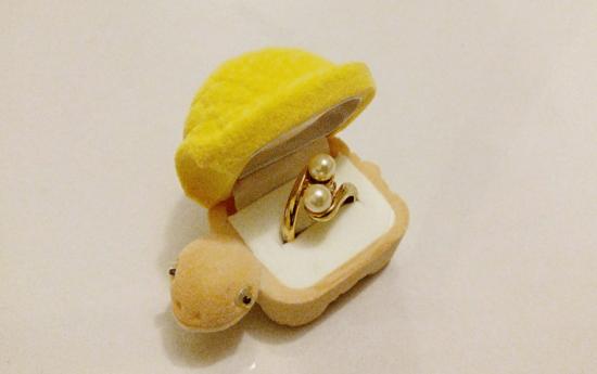 Turtle Ring Box / Jewelry Box