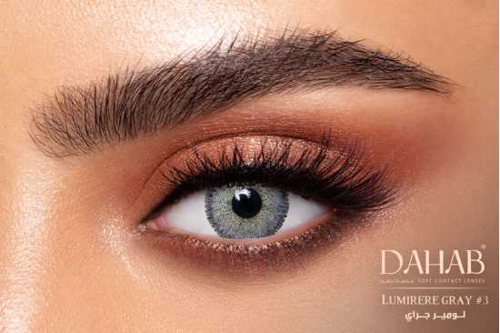 BUY 1 GET 2 FREE DAHAB Contact Lenses - LUMIRERE BLUE, GREY, HAZEL, BROWN AND...