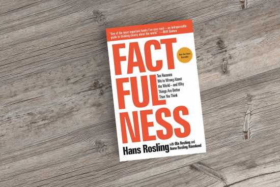 Factfulness recommended by Billgates