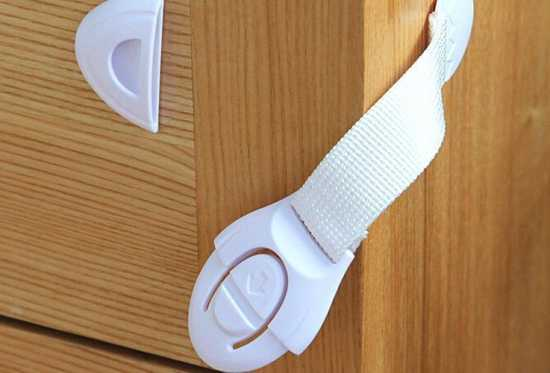 2pcs Child Safety Locks For Drawers, Doors And Refrigerators Child Safety...