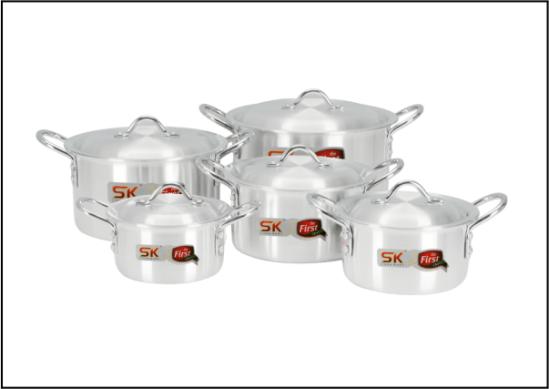 SK BABY 10PCS Aluminium Set