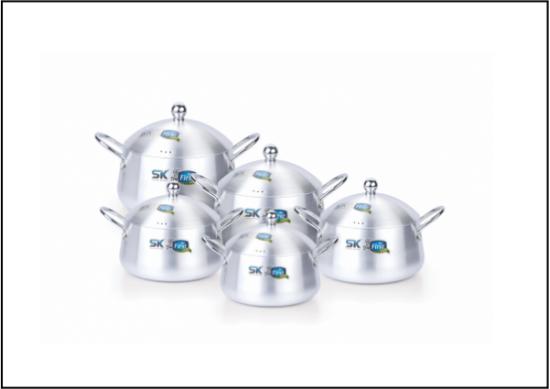 SK Krown Belly 10PCS Aluminium Set