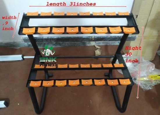 High Quality Gym equipment Beauty Dumbbell Rack