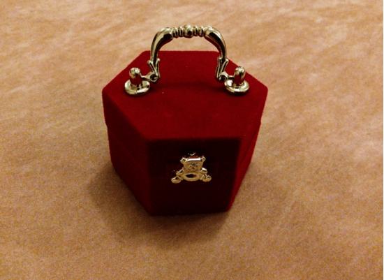 Treasure Ring Box / Chest Jewelry Box