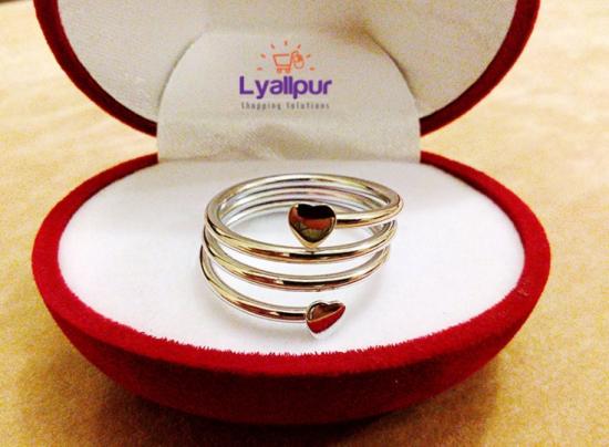 Antique Perfume Bottle Ring Box / Jewelry Box