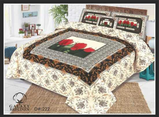 KIng Size Pure Cotton Bedlinen Bed sheet